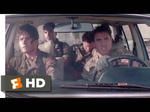 Navy SEALS (1990) - The Getaway Car Scene (10/11) | Movieclips