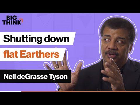 Shutting down flat Earthers, Neil deGrasse Tyson style | Big Think thumbnail