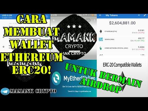 cara-membuat-wallet-ethereum-erc20-buat-airdrop-|-crypto-tutorial