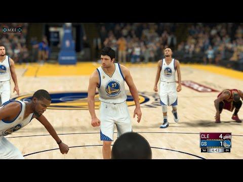 NBA 2K17 - 2016 NBA Finals: Cleveland Cavaliers v Golden State Warriors [1080p 60FPS HD]
