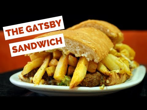 Gatsby Sandwich - Eating South African Food in Cape Town, South Africa