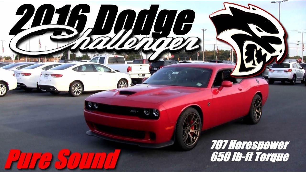 2016 dodge challenger hellcat youtube. Black Bedroom Furniture Sets. Home Design Ideas