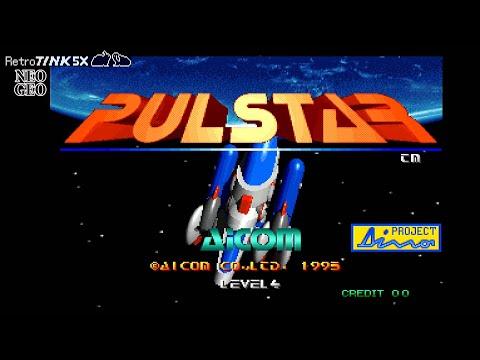 Neo Geo RetroTink 5X Showcase: Pulstar |