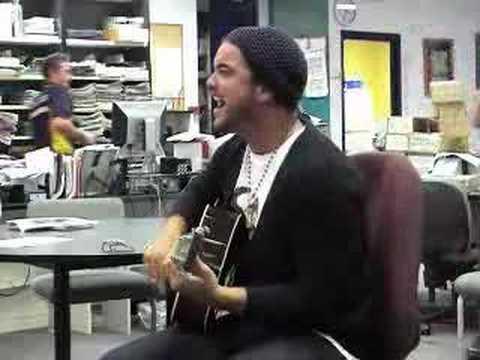 Guy Sebastian live in Sunshine Coast Daily newsroom