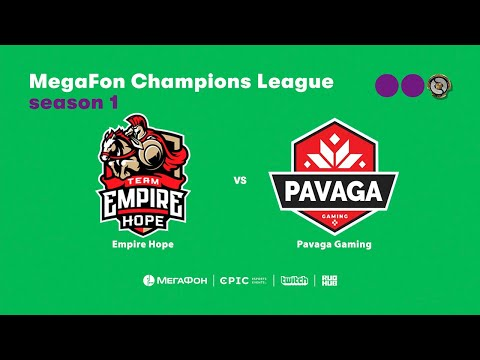 PVG vs Empire Hope, MegaFon Champions League, bo1 [Maelstorm & 4ce]