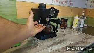 kitfort kt-706 недорогая рожковая кофеварка которая стоит своих денег...