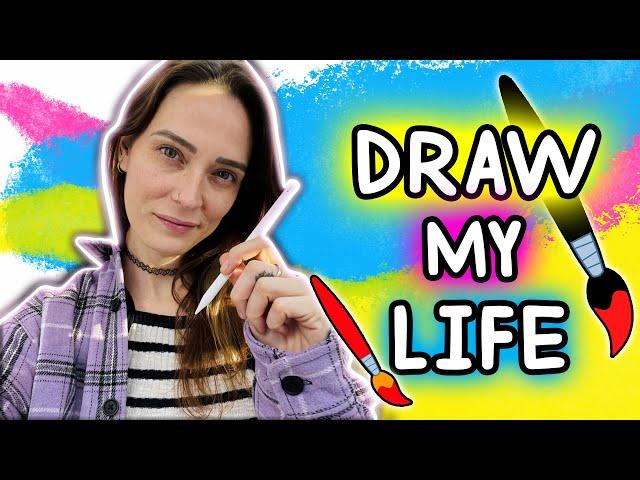 DRAW MY LIFE - ☀️ Summer edition ☀️