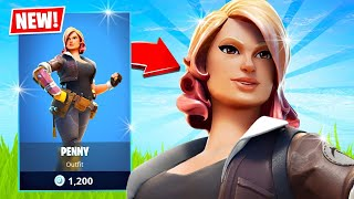 New PENNY Skin!! Winning in Solos! (Fortnite Season 3)