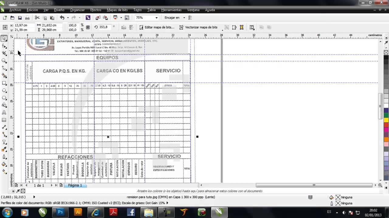Excel To Corel Draw