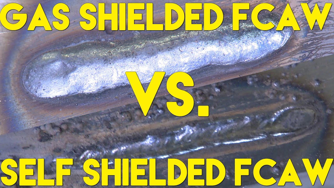 Flux Cored Welding with Gas vs without Gas (FCAW-G vs FCAW-S ...