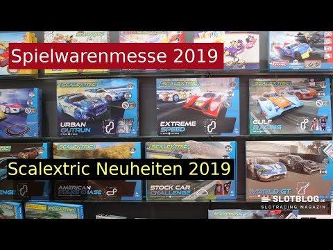 Scalextric Neuheiten 2019 Spielwarenmesse Nürnberg