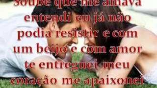 Aline Barros, Soube Que  Me Amava (Legendado) Tom Original.