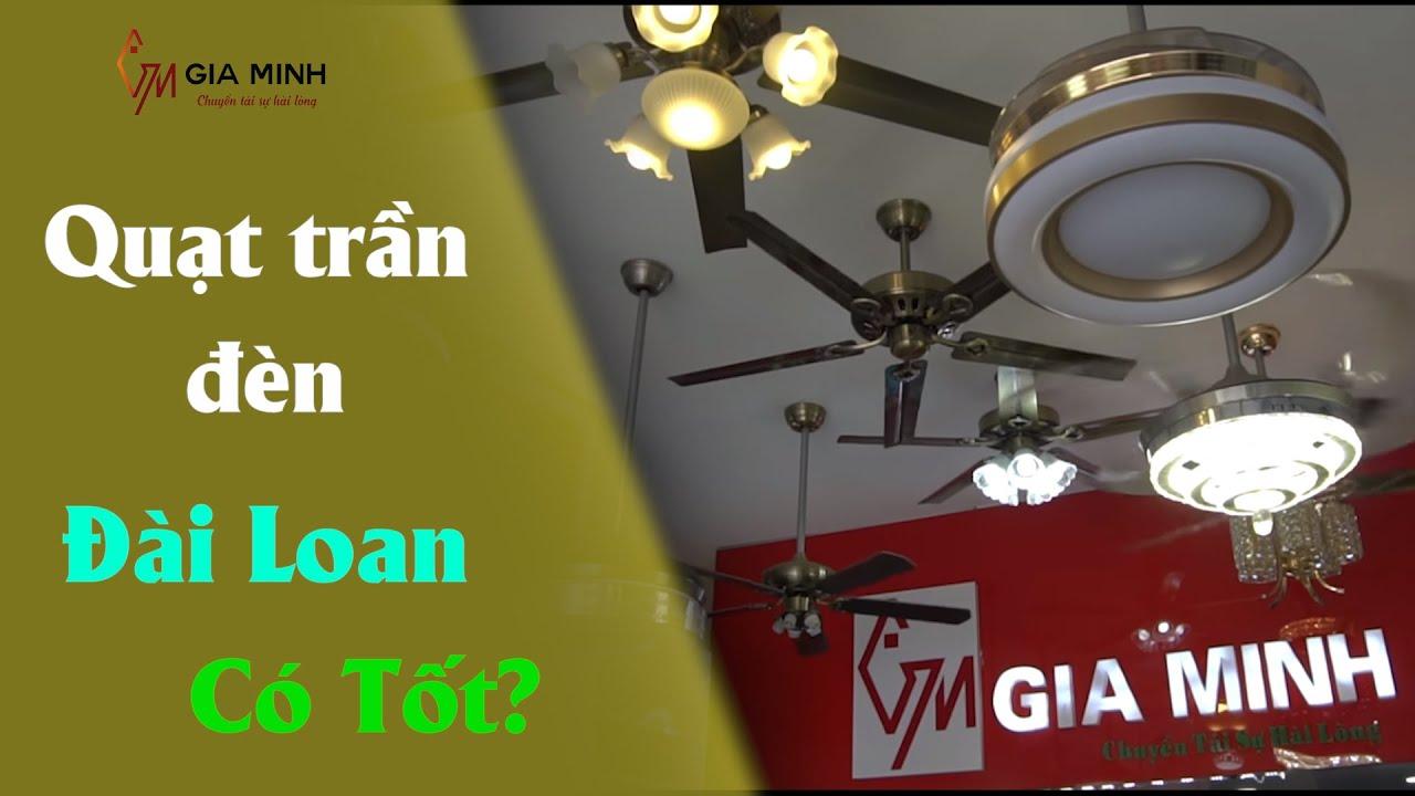 [CẢNH BÁO] Quạt trần đèn Đài Loan có tốt không?