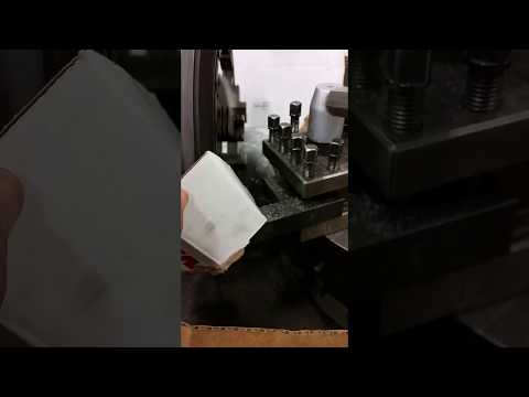 Tantalum composite Turning and Facing on Lathe to recycle cast into new carbon fiber fidget
