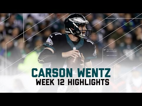Carson Wentz Rushes for 1st Career TD (Week 12 Highlights) | Packers vs. Eagles | NFL