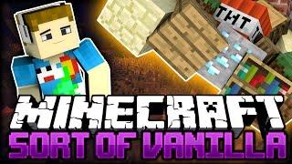 Minecraft: ENDLESS ORE SUPPLY | Sort Of Vanilla - Ep: 02