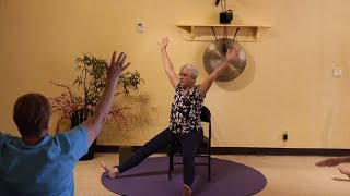 Moon Salutation with Melanie! Do it Seated, or Try it Standing!