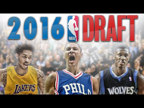 NBA 2K16 - 2016 NBA Mock Draft