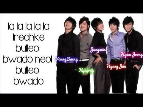 SS501- A Song Calling For You Lyrics