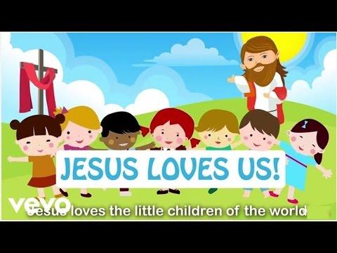 Sing Hosanna - Jesus Loves The Little Children (with Lyrics)