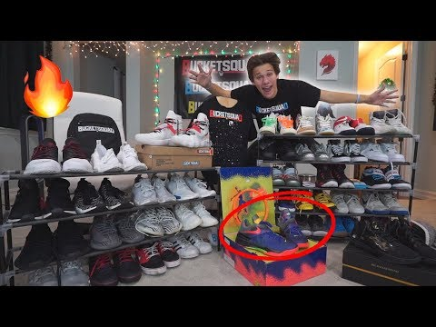 ING MY ENTIRE *SUPER RARE* SHOE COLLECTION!! 🔥🔥