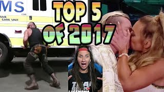 My Top 5 Reactions of 2017!!