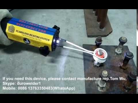 bolt induction heater, mini induction heater, magnetic induction ...