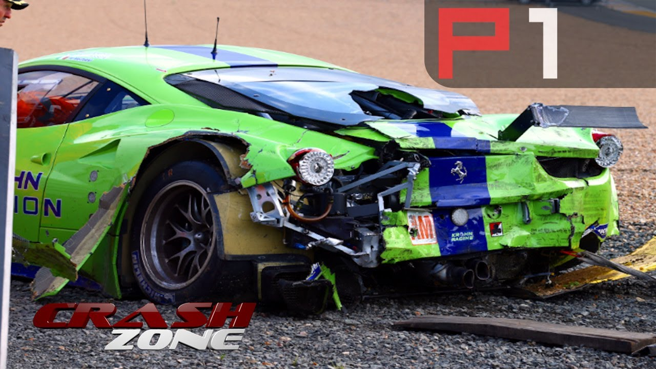 Rally crashes, GT Racing Fails & more - Crash Zone - YouTube