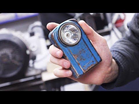 Restoring broken vintage flashlight/lantern - Restoration project