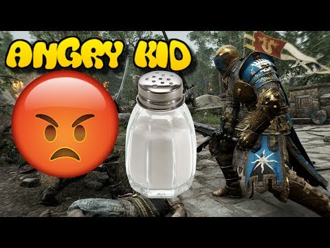 Angry Kid Gets Salty During 1v1 on For Honor