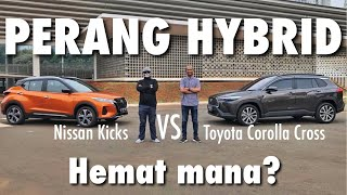 PERANG HYBRID   Nissan Kicks vs Toyota Corolla Cross   Ft: Fitra Eri