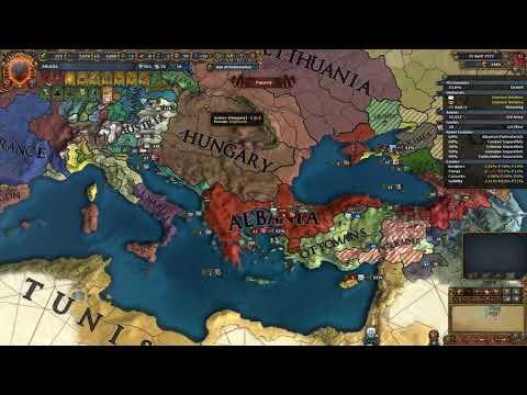 Albania or Albania on very hard PLC invades with Hungary part 3