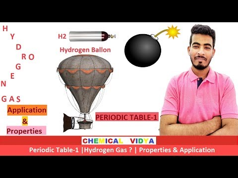 [HINDI] HYDROGEN GAS | Application | Periodic Table