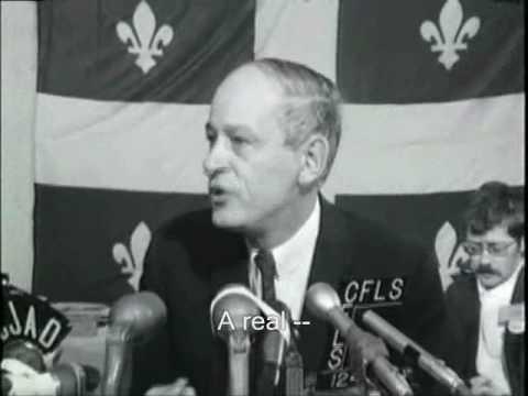 René Lévesque 1968 Press Conference