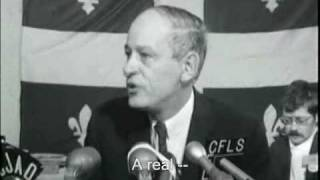René Lévesque 1968 Press Conference