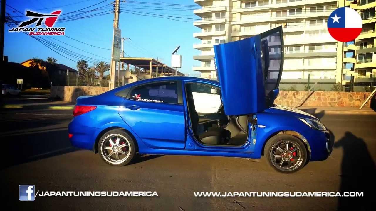 Hyundai Accent 2012 Instalacion Lambo Doors En Toda