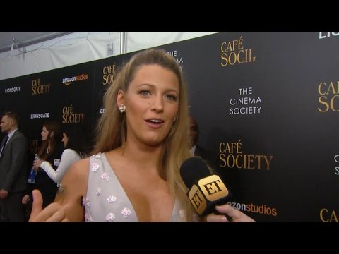 Blake Lively Reveals Husband Ryan Reynolds' Tweets About Their Daughters Are 'Completely Made-Up'