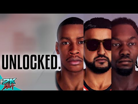 NBA 2K20 Hidden Face scans - legends, Celebrities, Youtubers, classic players and Socialites