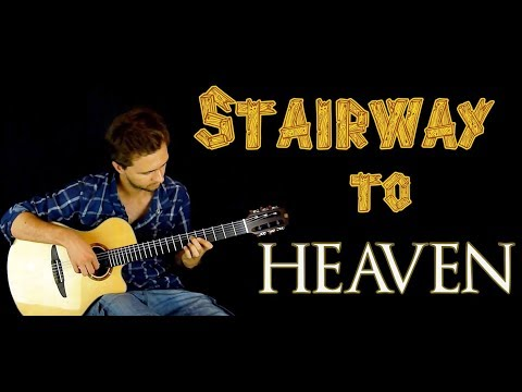 Stairway To Heaven acoustic guitar lesson | NewbieGuitar.com