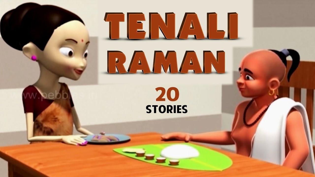 Moral Stories of Tenali Raman Collection | 3D Tenali Raman Stories