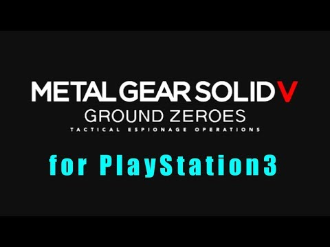 #1 METAL GEAR SOLID V: GROUND ZEROES