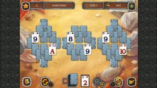 Solitaire: Legend of The Pirates 2 (Gameplay) HD