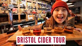 Bristol Cider Tour   England Road Trip Travel Vlog 2
