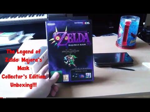 The Legend of Zelda: Majora's Mask 3D Europe Collectors Edition Unboxing!