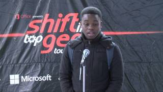The Shift Gear Challenge- University of KwaZulu Natal- Khulekani Cele