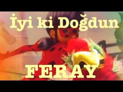 İyi ki Doğdun FERAY :)  Komik Doğum günü Mesajı  1. VERSİYON ,DOĞUMGÜNÜ VİDEOSU Made in Turkey :) 🎂