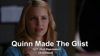 GLEE- Quinn Made The Glist | Bad Reputation [Subtitled] HD streaming