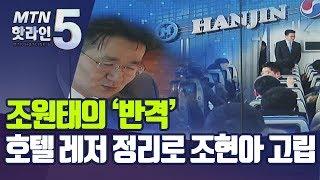 조원태의 '반격' … 호텔.레저 정리로 조현아 고립 /…