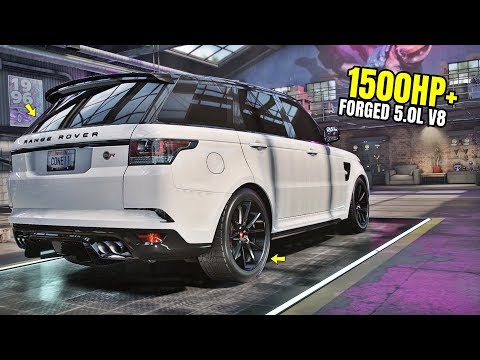 Need For Speed Heat Gameplay - 1500HP+ LAND ROVER RANGE ROVER SPORT SVR Customization | Max Build