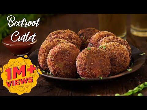 Beetroot Cutlet | Evening Snack | Quick Snack Recipe